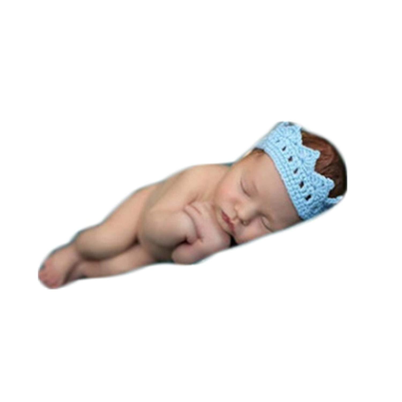 c591ec95ef21f ... Newborn Baby Photography Props Boy Girl Photo Shoot Outfits Crochet Knit  Headdre