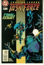 JUSTICE LEAGUE TASK FORCE #37 NM! - $1.00
