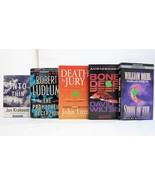 Various Lot of 5 Books on Cassette Audio Thriller Stories Krakauer, Lutz... - $23.65