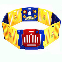 Baby Playpen Kids 8 Panel Safety Play Center Ya... - $133.99