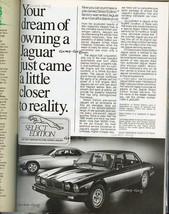 Vintage Print Ad 1986 Advert Jaguar Dream Select Edition B & W Great to ... - $6.99