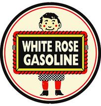 """White Rose Gasoline 18"""" Metal Sign Vintage Retr... - $79.95"""