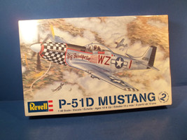 REVELL 1/48 Scale P-51D Mustang Model Kit NO. 85-5241 SEALED IN PLASTIC - $15.99