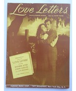 "Vintage Sheet Music - 1945 - ""Love Letters"" by E. Heyman and V. Young #7791 - $3.99"