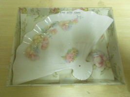 VINTAGE GENUINE FINE BONE CHINA FAN PLATE COLLE... - $18.99