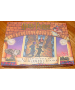 HARRY POTTER & THE SORCERERS STONE THE GAME 2000 UNIVERSITY GAMES COMPLE... - $20.00