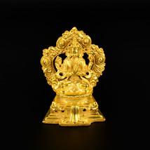 "3.3"" Gold Plated Chengreshi Statue - $39.99"