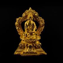 """3.5"""" Gold Plated Buddha Statue - $39.99"""