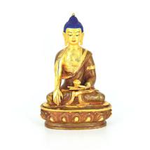 """8"""" Gold Plated/Copper Shakyamuni Statue - $250.00"""