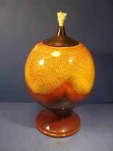 LARGE CERAMIC OIL LAMP OR TORCH - UNIQUE PIECE - $24.99