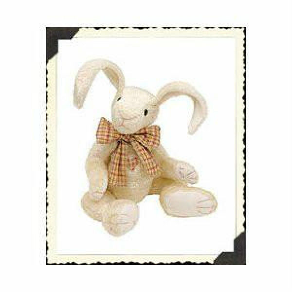 "Boyds Bears ""Tatters T Hareloom"" #52000 - 10"" Plush Rabbit- 2001- NWT - Retired - $23.99"