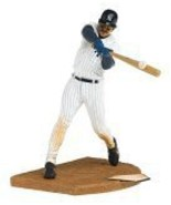 Cooperstown Series 3 Don Mattingly: NY Yankees White Pinstripe Jersey wi... - $58.41