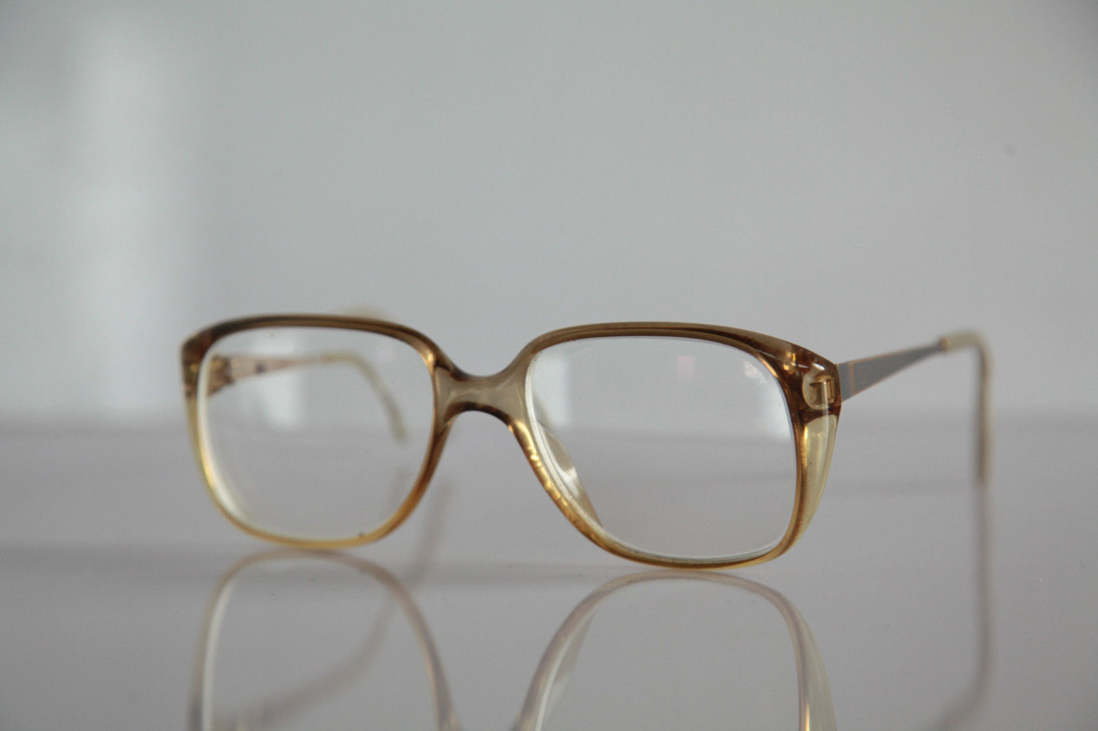 Vintage ZEISS Eyewear, Crystal Gold Frame,  RX-Able Prescription lens. Germany