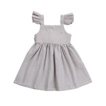 New Arrivels Toddler Kids Baby Girl Stripe Bow Princess Tutu Dress Sundress - $10.68+