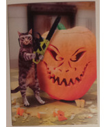 "Greeting Halloween Card ""Carve out some time for fun this Halloween"" - $2.99"