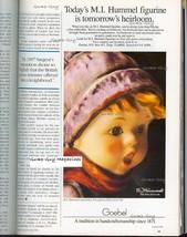 Vintage Print Ad 1986 M.I. Hummel Figurine Advertizement Advert goebel c... - $7.75