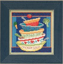 Soup Bowls Autumn Mill Hill 2015 Button and Beads kit Mill Hill  - $12.60