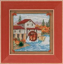 Country Mill Country Lane Autumn Mill Hill 2015 Button and Beads kit Mill Hill  - $12.60