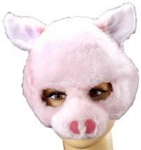 Forum Novelties Animal Soundz Pig Half Mask Halloween NW PUSH NOSE MAKES... - $25.74