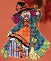 Mimi Hocus Pocus Trilogy Autumn 2015 ornament kit cross stitch Mill Hill - $7.20