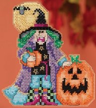 Muriel Hocus Pocus Trilogy Autumn 2015 ornament kit cross stitch Mill Hill - $7.20