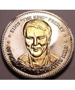 Historic Mint Double Eagle Elvis The King Presley Commemorative Medallio... - $9.25