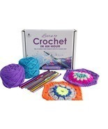 Crochet Kit - LEARN TO CROCHET IN AN HOUR!  Ebo... - $41.00