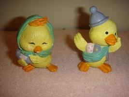 Enesco Easter Merry Miniatures Chick & Duck - $11.99