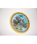 PENNSYLVANIA PA GAME COMMISSION 1998 WILD TURKEY PATCH NEW FREE USA SHIP - $9.89