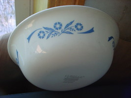 CORELLE CORNFLOWER BLUE CEREAL SOUP BOWL VERY HARD TO FIND FREE USA SHIP... - $27.71