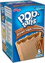 Kellogg's Frosted Brown Sugar Pop Tarts, Cinnamon, 14 oz (package of 2 B... - $14.79
