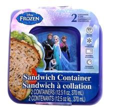 Disney Frozen  2pk Sandwich Container pk of 2 - $2.99