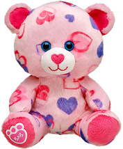 New Build a Bear Pink Hearts and Hugs Baby Budd... - $46.99