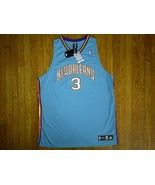 Authentic Adidas New Orleans Hornets Chris Paul-Teal/White/Purple Road J... - $249.99