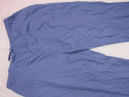 "Women Natural Uniforms Scrub Blue pants INSEAM 29"" Size XL - $9.08"