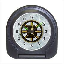 Boston Bruins Compact Travel Alarm Clock (Battery Included) - NHL Hockey - $9.95