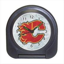 Calgary Flames Compact Travel Alarm Clock (Battery Included) - NHL Hockey - $9.95
