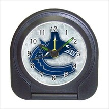 Vancouver Canucks Compact Travel Alarm Clock (Battery Included) - NHL Ho... - $9.95