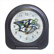 Nashville Predators Compact Travel Alarm Clock (Battery Included) - NHL Hockey - $9.95