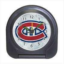 Montreal Canadians Compact Travel Alarm Clock (Battery Included) - NHL Hockey - $9.94