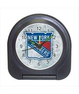 New York Rangers Compact Travel Alarm Clock (Battery Included) - NHL Hockey - $9.95