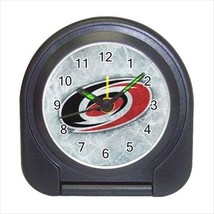 Carolina Hurricanes Compact Travel Alarm Clock (Battery Included) - NHL Hockey - $9.95