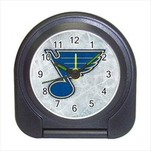 St.Louis Blues Compact Travel Alarm Clock (Battery Included) - NHL Hockey - $9.95