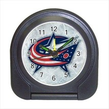 Columbus Blue Jackets Compact Travel Alarm Clock (Battery Included) - NHL Hockey - $9.95