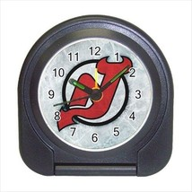 New Jersey Devils Compact Travel Alarm Clock (Battery Included) - NHL Hockey - $9.95
