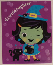 "Greeting Halloween Card ""Granddaughter"" Granddaughter - $1.50"