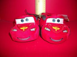 Disney Cars Baby Clothes 5/6 Small Foot Wear Slipper Pair Pixar Shoe Foo... - $9.49