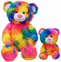 New Build a Bear Rainbow Tropicolor 17 in. Tedd... - $169.99