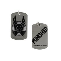 Punisher Dog Tag Necklace Marvel New Licensed Discontinued - $7.99