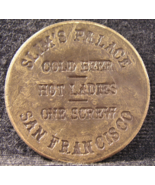 """Brothel Reproduction Love Token From: """"Slim's Palace""""- (sku#3161) - $7.99"""